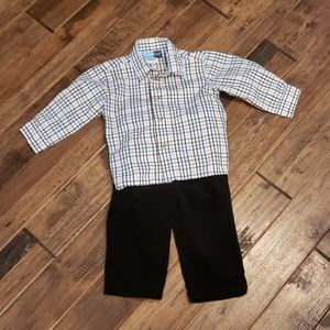 18m Button Up Shirt and Corduroy Pants